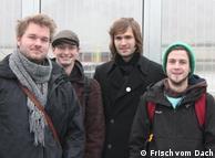 Christian Echternacht (tercero en la foto), uno de los artífices del proyecto.
