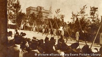 Egzekucija Armenaca u gradu Pera