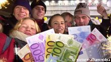 10. Jahrestag Einführung des Euro als Bargeld