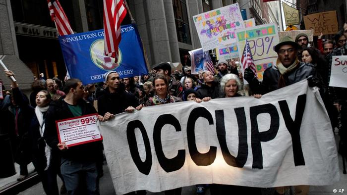 Protest Occupy Wall Street (Foto: AP)