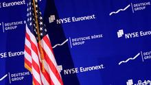 USA Deutschland Fusion Deutsche Börse New York Stock Exchange