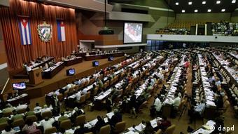 Parlamentssitzung in Kuba