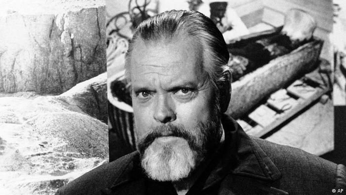 Regisseur und Schauspieler Orson Welles