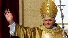 Papst Benedikt Amtseinführung