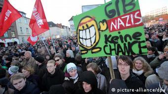 anti-NPD rally