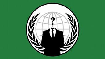 Hacker Gruppe Anonymous LOGO