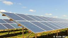 Eine Solaranlage in der Ukraine von der Firma Activ Solar. Quelle: Activ Solar, Undatierte Aufnahme, Eingestellt 26.12.2011