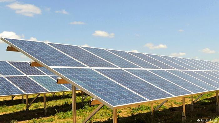Solaranlage in der Ukraine