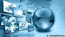 Symbolbild Globus Wirtschaft Geschäfte Konzept