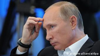 Владимир Путир чешет лоб