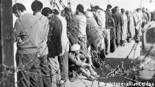 Festgenomme Algerier 1956 in Oran Algerien