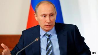 Vladimir Putin (Photo: Yana Lapikova / RIA novosti / Pool / AP / dapd)