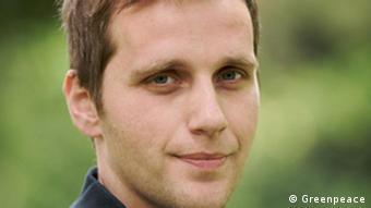 Niklas Schinerl, Energiesprecher Greenpeace Österreich