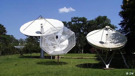 Antenas da Deutsche Welle em Kigali no Ruanda