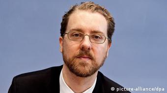 Portrait of Christian Humborg Photo: Robert Schlesinger dpa/lbn