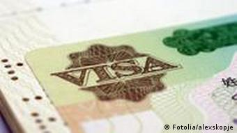 A visa (Photo: BronzeVIsa © alexskopje)