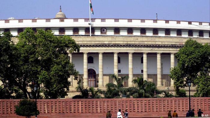 Indien Parlament in New Delhi (AP)