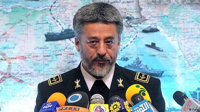 حبیبالله سیاری، فرمانده نیروی دریایی ایران