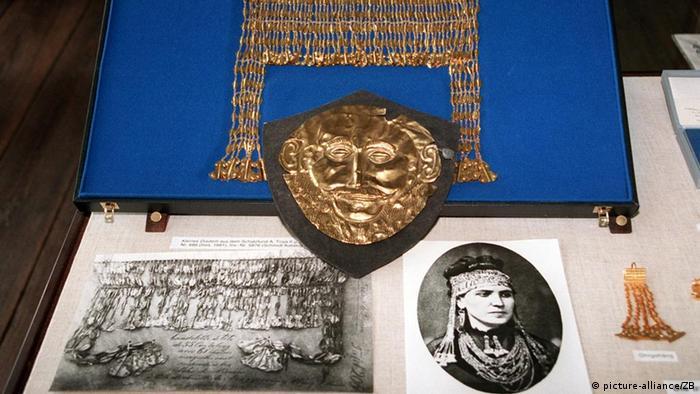Диадема из ''клада Приама'', золотая маска Агамемнона и знаменитая фотография Софии