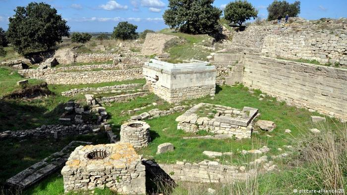 Ausgrabungsstätte von Troja