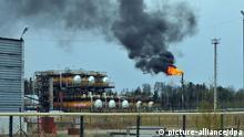 Öl-Pumpstation bei Chanti-Mansisk Russland