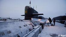 Russland Atom-U-Boot Jekaterinburg in Murmansk