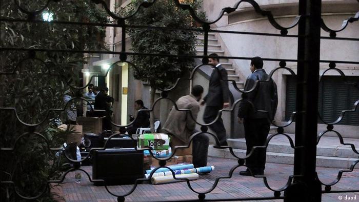تجسس ماموران قضایی مصر در دفاتر سازمانهای غیردولتی