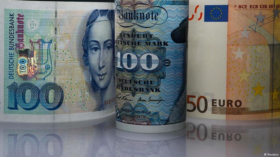 Почти 13 миллиардов немецких марок до сих пор не обменяли на евро | Новости из Германии о Германии | DW | 26.12.2015