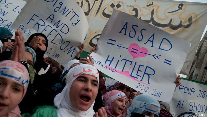 Antiregierungsproteste in Syrien