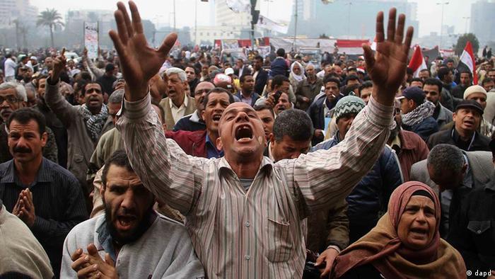 Акции протеста в Египте (фото из архива)