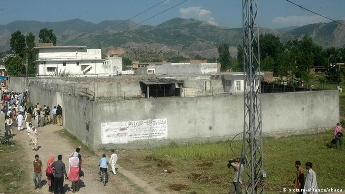 Bin Ladens letzte Residenz im pakistanischen Abbottabad (Foto: Balkis Press)