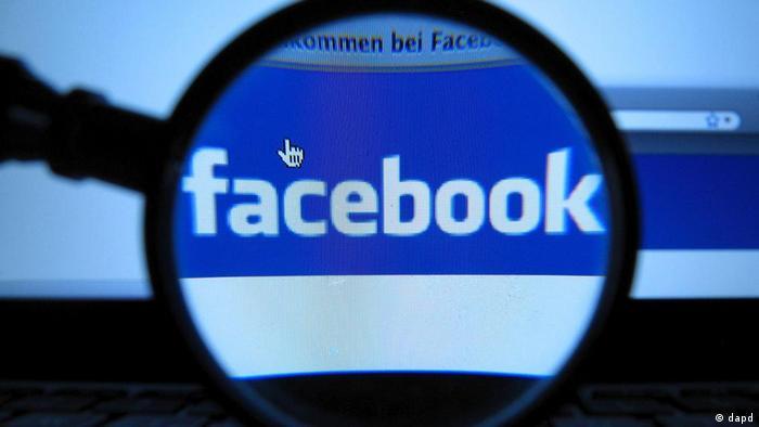 Facebook Datenschutz Internet Symbolbild
