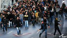 ۲۹ دسامبر ۲۰۱۱: تظاهرات کردها در استانبول پس از حملهی ارتش ترکیه به کردهای شمال عراق.
