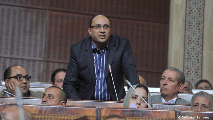 Thema: Linke in Marokko  Porträt von Hassan Tarik, Mitglied der marokkanischen Linkspartei USFP. Bild: Ismail Bellaouali Aufnahme: Dezember 2011, Rabat