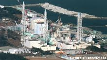 TOKYO, Japan - Photo taken from a Kyodo News helicopter on Dec. 15, 2011, shows the Fukushima Daiichi nuclear power plant in Fukushima Prefecture, northeastern Japan. Prime Minister Yoshihiko Noda said Dec. 16 the plant has achieved a stable state of cold shutdown, nine months after the outbreak of one of the world's worst nuclear accidents. (Kyodo)