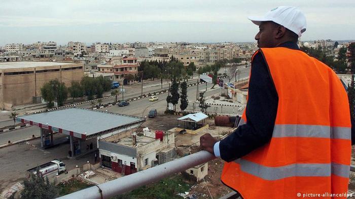 یکی از ناظران اتحادیه عرب در سوریه
