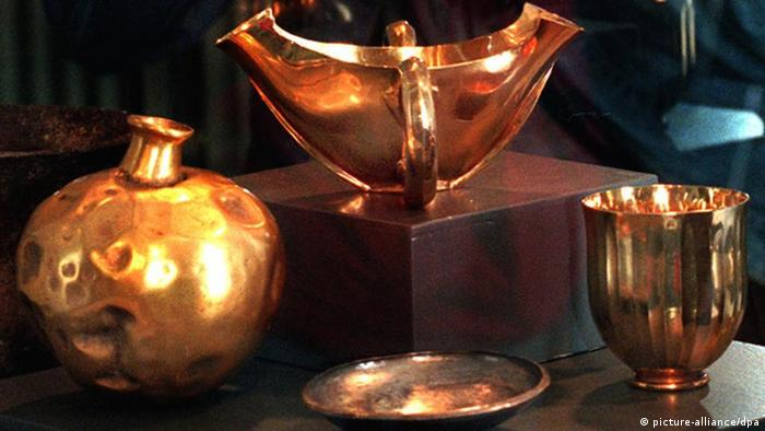 Nachbildungen aus dem Schatz des Priamos, Originale im Puschkin Museum