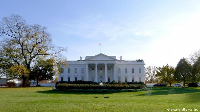 Dossierbild TEIL 2 Weiße Haus Symbolbild Wahlkampf USA 2012 (picture-alliance/dpa)