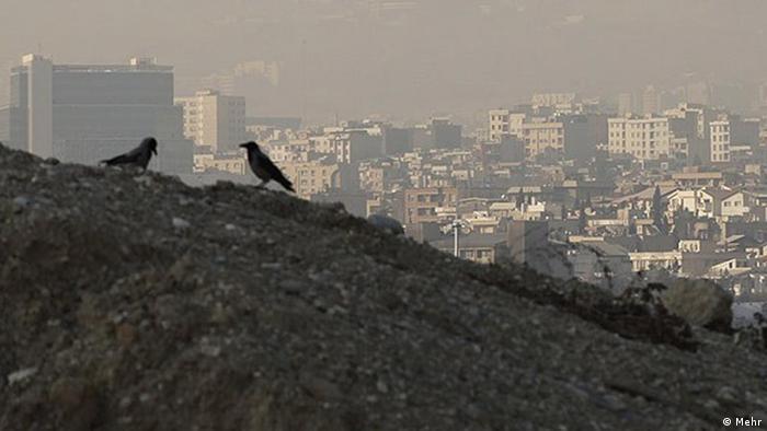 تهران در محاصره آلودگی و بدبویی