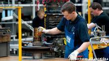 Deutschland Arbeitsmarkt Produktion