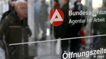 Deutschland Arbeitsmarkt Arbeitsamt