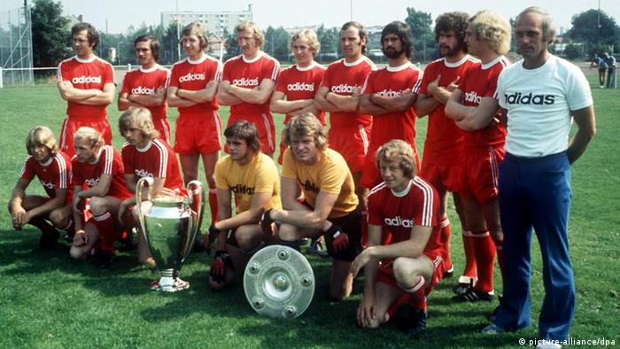 Bayern's team in 1974 (picture-alliance/dpa)