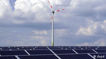 Deutschland Energie Solarenergie und Windenergie Energiewende