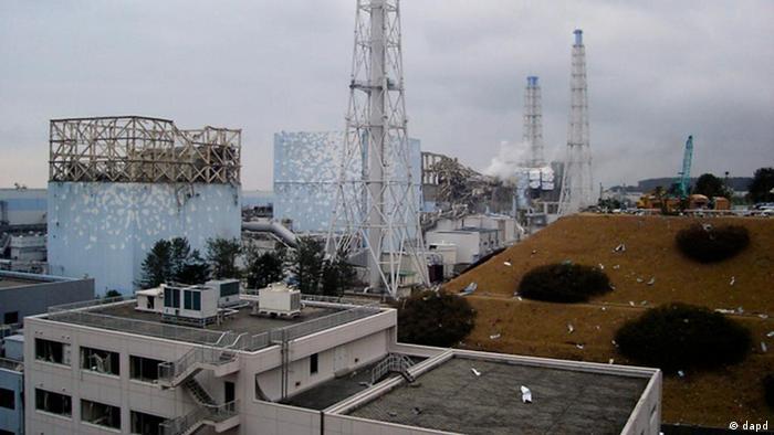 Japan Erdbeben und Tsunami Fukushima Trümmer Atomkraftwerk