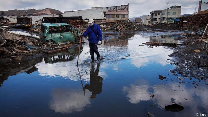 A destruição causada é de tal dimensão que o Japão necessitará de anos para reconstruir tudo o que ficou destruído