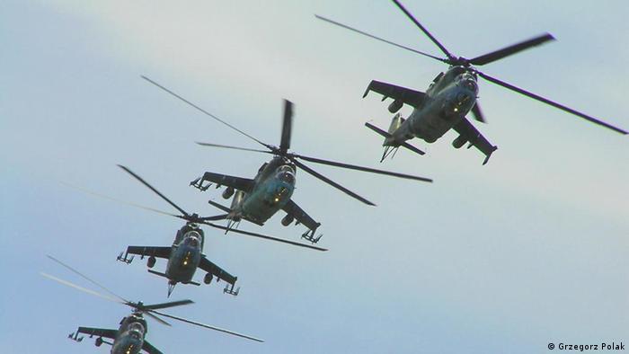 Вертолеты на вооружении польской армии