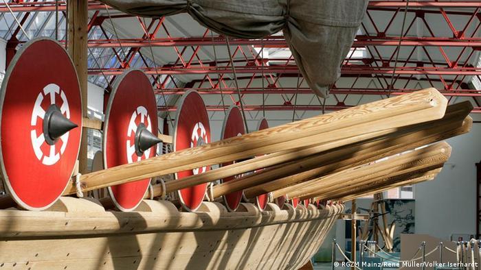 Реконструкция римского корабля в Майнце