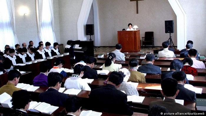 Христиане в Северной Корее