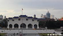 Freiheitsplatz vor der Chiang Kai-Shek Gedenkhalle in Taiwans Hauptstadt Taipei