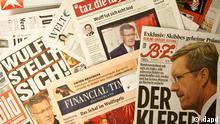 Deutschland Bundespräsident Christian Wulff Pressestimmen